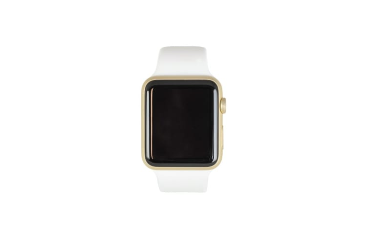 Apple Watch Series 1 Refurbished (42mm, Gold, White Sport Band) - A Grade