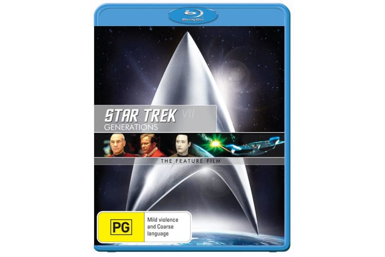 Star Trek 7 Generations Blu-ray Region B