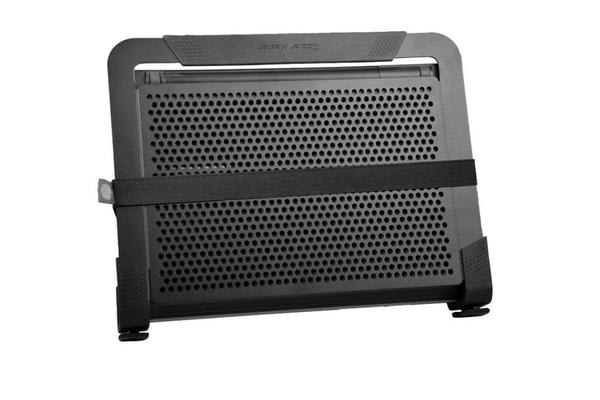 Coolermaster NotePal U2 PLUS Black Notebook Cooler Stand, 2x movable Fan, Support up to 17' Notebook