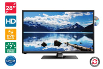 "Kogan 28"" LED TV (HD) & DVD Player Combo"