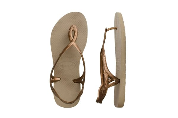 c3d49d56ffe0 Havaianas Luna Thongs (Rose Gold