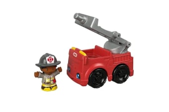 Little People Small Vehicle The Rescue Fire Truck