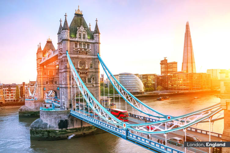 EUROPE: 18 Day European Escape Tour Including Flights for Two