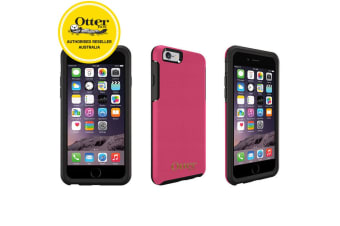 Otterbox Pink Symmetry Leather Protective Drop Case Cover for iPhone 6+/6s Plus