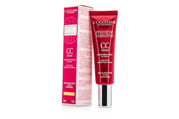 L'Occitane Peony Pivoine Sublime CC Cream SPF 20 - #Light (30ml/1oz)