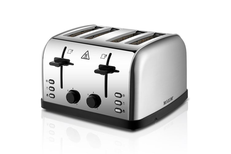 Maxim 4 Slice Automatic Stainless Steel Toaster (KPT4S)