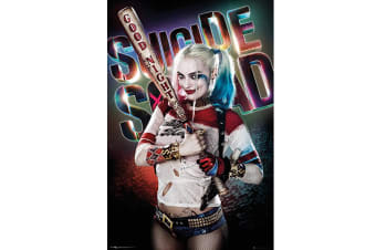 Suicide Squad Harley Quinn Poster (Multi-colour) (One Size)