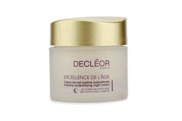 Decleor Excellence De L'Age Sublime Re-Densifying Night Cream (50ml/1.69oz)
