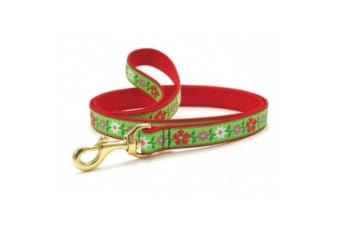 Up Country Poinsettia Lead (Red/Green)