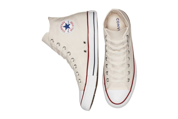 Converse Unisex Chuck Taylor All Star Hi (Natural Ivory, Size 4.5)