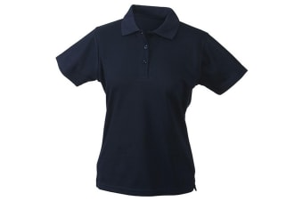James and Nicholson Womens/Ladies Function Polo (Navy) (L)