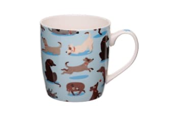 Catch Patch Dog Squad China Mug (Blue/Brown) (One Size)