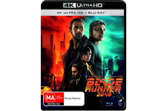 Blade Runner 2049 4K Ultra HD Blu-ray Digital Download UHD Region B