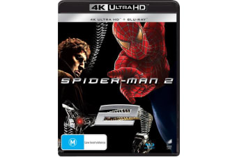 Spider Man 2 4K Ultra HD Blu-ray Digital Download UHD Region B