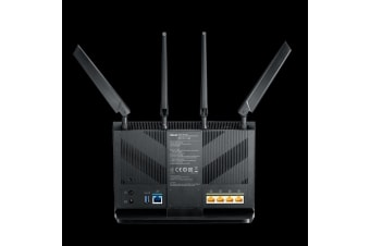 ASUS 4G-AC68U wireless router Dual-band (2.4 GHz / 5 GHz) Gigabit Ethernet 3G