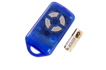 ATA PTX4 Blue Garage Door Remote Control Securacode Securalift
