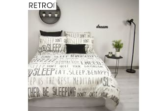 Sleep Quilt Cover Set by Retro Home