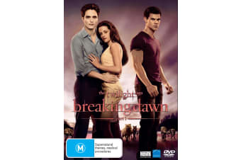 The Twilight Saga Breaking Dawn Part 1 DVD Region 4