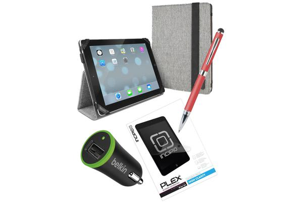 Generic Essential Bundle Pack A  for iPad 9.7  5th & 6th Gen. 2017-2018 Model & iPad  Air 1 /Air
