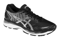 Asics Men's Gel-Nimbus 18 Running Shoe (Black/Silver/Carbon)