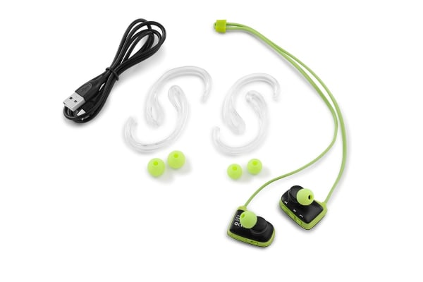 Fortis Water Resistant Bluetooth Earphones (Green)