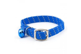 Ancol Softweave Cat Collar (Blue)