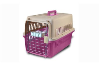 Airline Approve Dog Cat Portable Tote Crate Pet Carrier