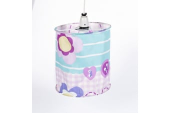 Mucky Fingers Childrens Patterned Lampshade (Patchwork)