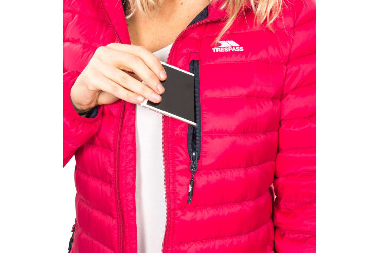 Trespass Womens/Ladies Arabel Down Jacket (Raspberry) (XS)