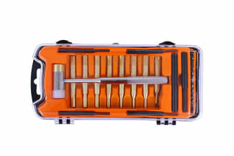 AtacPro 27pcs Gun Smith Tool Set w Hammer Pouches Screw Drivers
