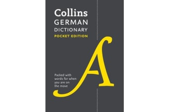 Collins German Dictionary Pocket Edition - 40,000 Words and Phrases in a Portable Format