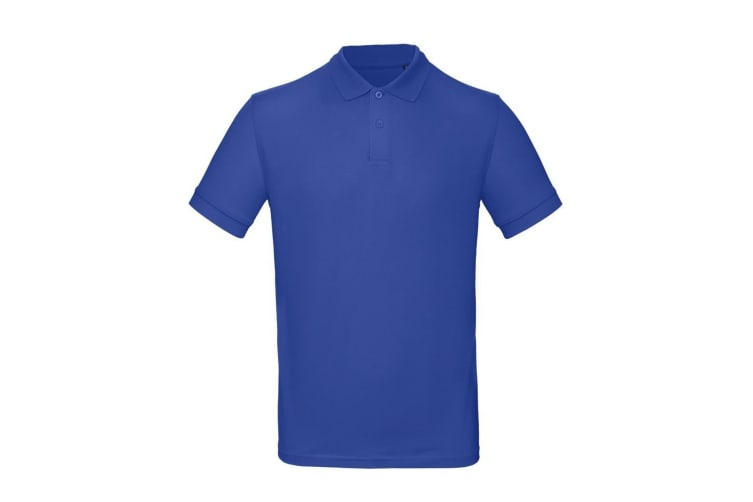 B&C Mens Inspire Polo (Pack of 2) (Egyptian Blue) (3XL)