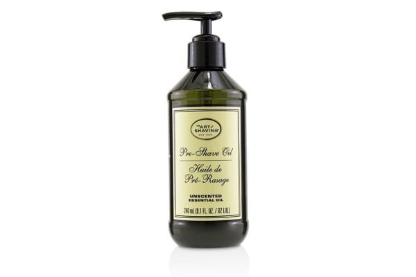 The Art Of Shaving Pre-Shave Oil - Unscented (With Pump) 240ml/8.1oz