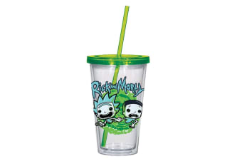 Rick and Morty Acrylic Cup