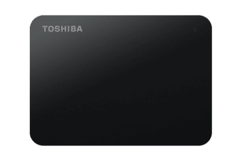 Toshiba Canvio Basics A3 USB 3.0 Portable External Hard Drive 2TB - Black (HDTB420AK3AA)