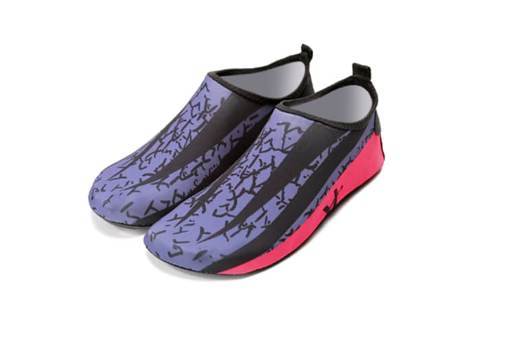 Womens and Mens Water Shoes Barefoot Quick-Dry Aqua Socks for Beach Swim Surf Yoga Exercise M