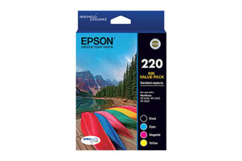 Epson 220 4 Ink Value Pack