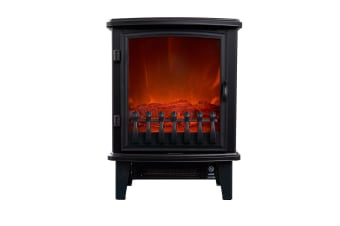 Heller 1800W Electric Freestanding Fireplace Heater (HFH18D1)