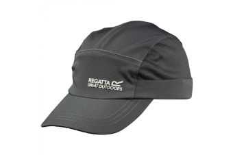 Regatta Great Outdoors Childrens/Kids Shadie Stretch Sports Cap (Seal Grey)