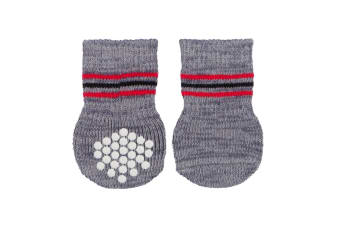 Trixie Dog Socks (Grey)