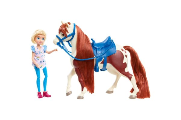 Spirit Small Doll and Horse - Abigail and Boomerang
