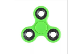 3D Alloy Fidget Hand Finger Spinner EDC Focus Stress Reliever Toys Kids Adults - Green