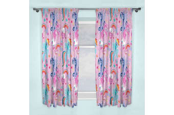 My Little Pony Crush Curtains (Pink) (168cm x 183cm)