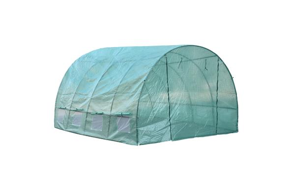 Walk In Greenhouse Garden Green House Plant Shed PE PVC Cover Arch Tunnel