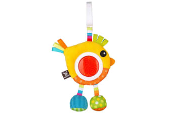 Benbat Dazzle Rattle Bird Toy
