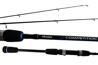 7ft Okuma Competition 10-20lb Graphite Spin Rod with Split Grip Butt