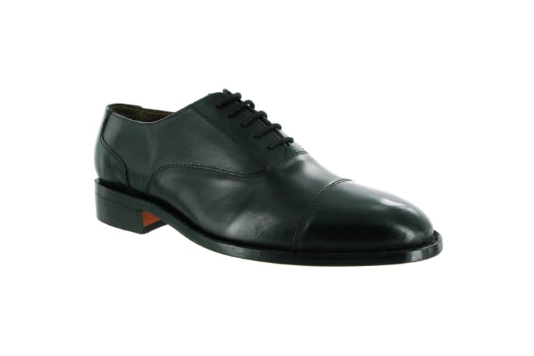 Amblers James Leather Soled Shoe / Mens Shoes (Black) (11 UK)