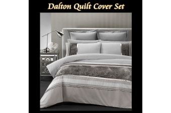 Dalton Quilt Cover Set by Phase 2