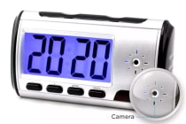 Spy Clock DVR with Motion Detector (8GB)