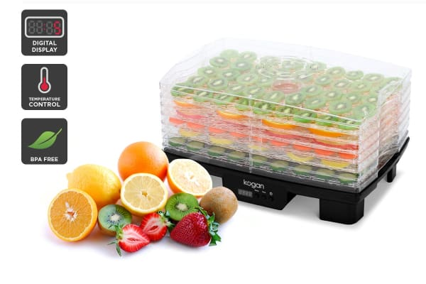Kogan 6 Tray Food Dehydrator with Timer